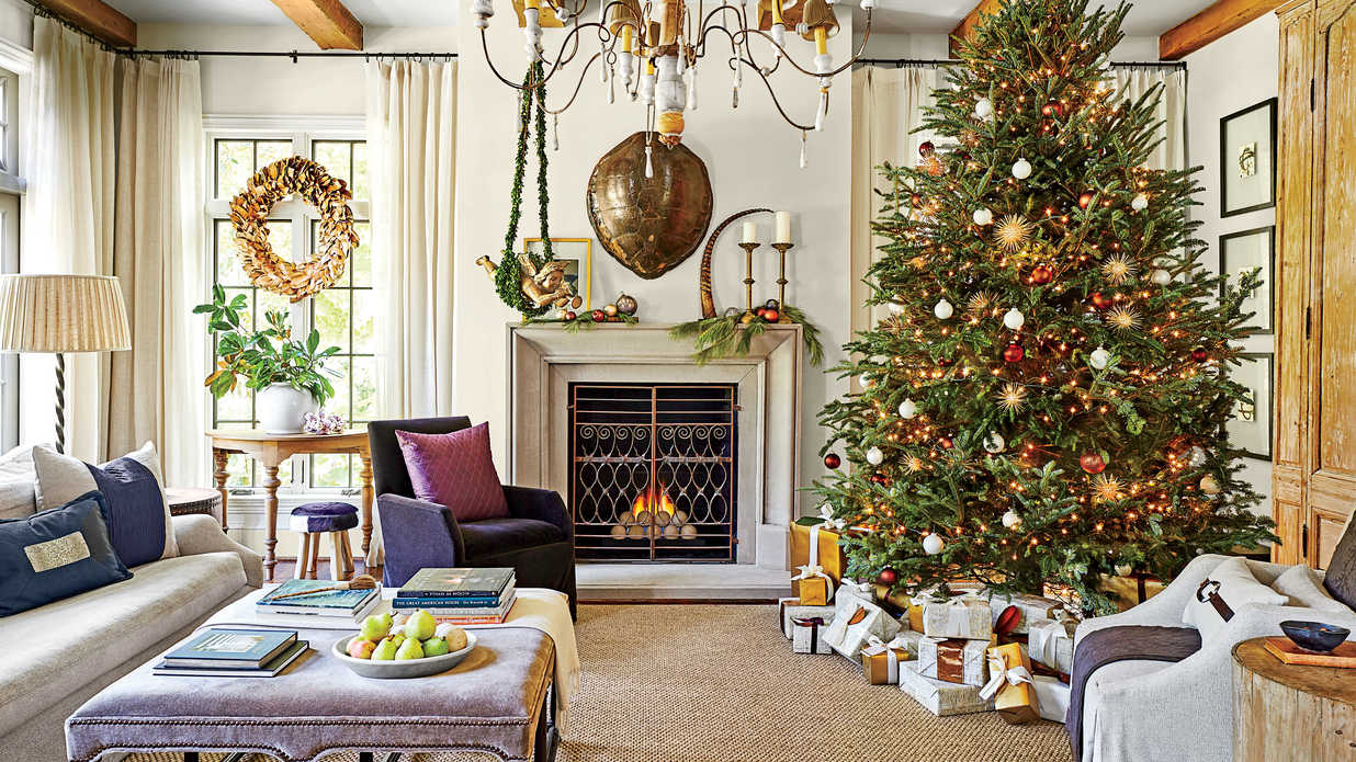 This Southern Designer's House is a Winter Wonderland - Southern ...