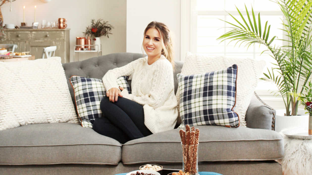 Step Inside Jessie James Decker's Living Room