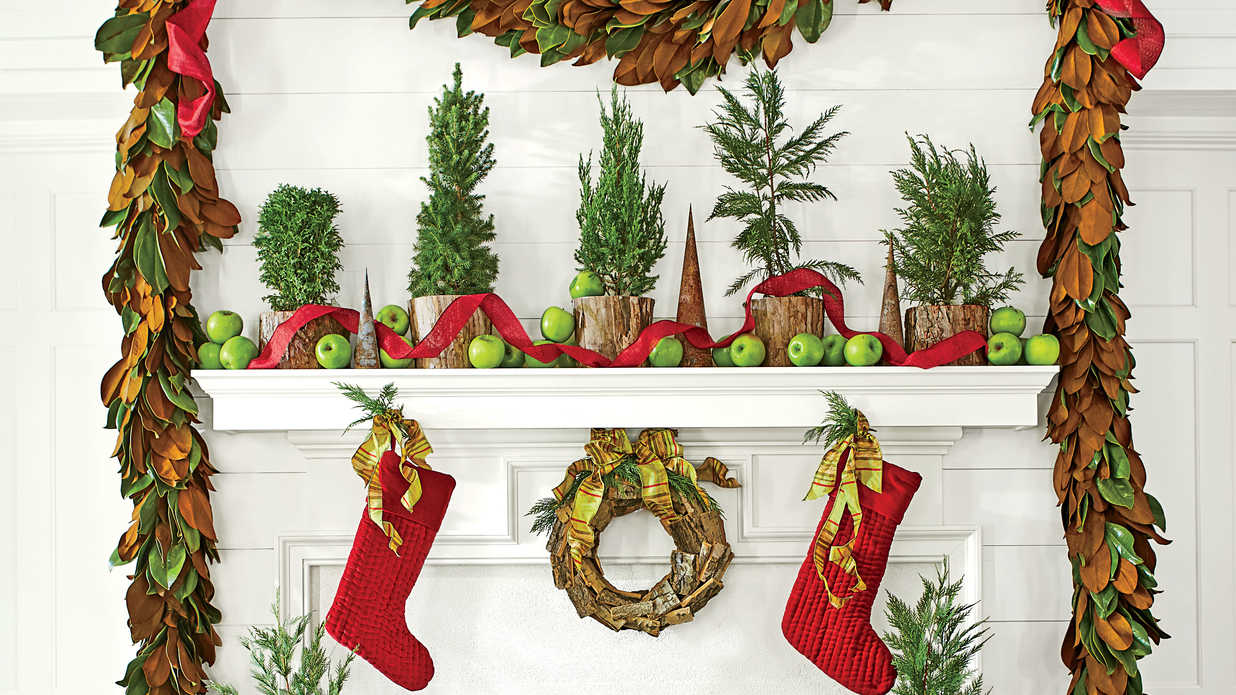 Three Ways to Style Your Mantel This Christmas