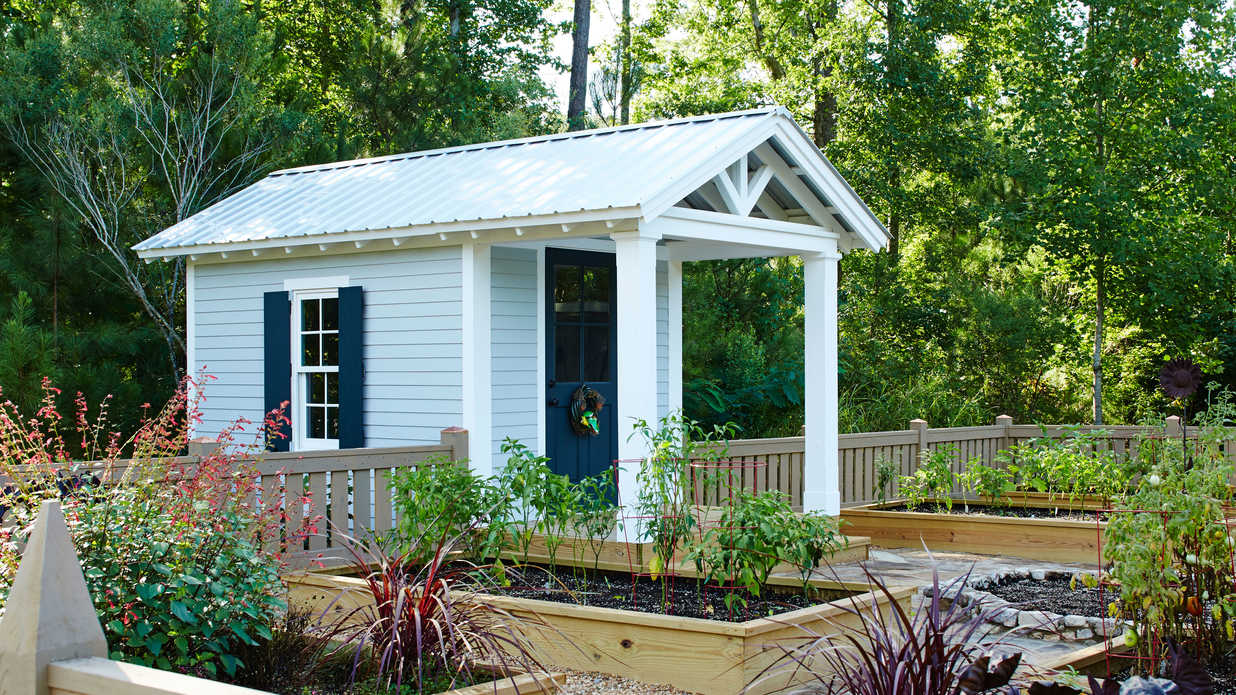 We Can't Decide if This is a Tiny House or a Garden Shed