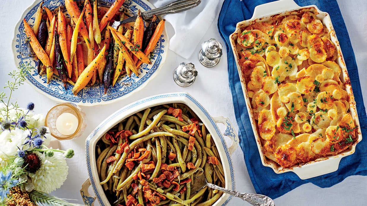 Round out your Thanksgiving feast with Food Network's best-ever side dishes, like Alton's classic green bean casserole, plus dozens more top recipes, how-to videos and tips.