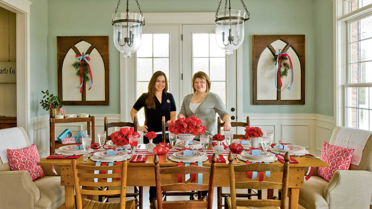 Christmas Party Ideas Vintage Christmas Brunch Southern