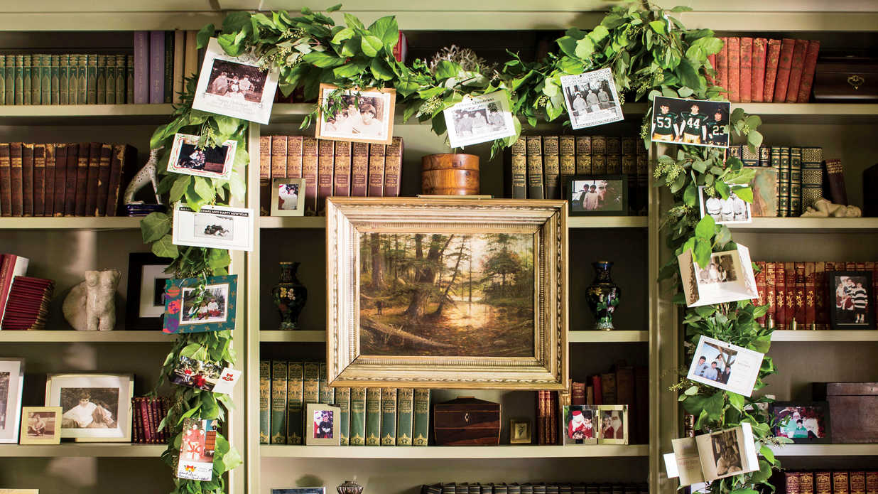 Christmas Card Display.7 Christmas Card Display Ideas Southern Living