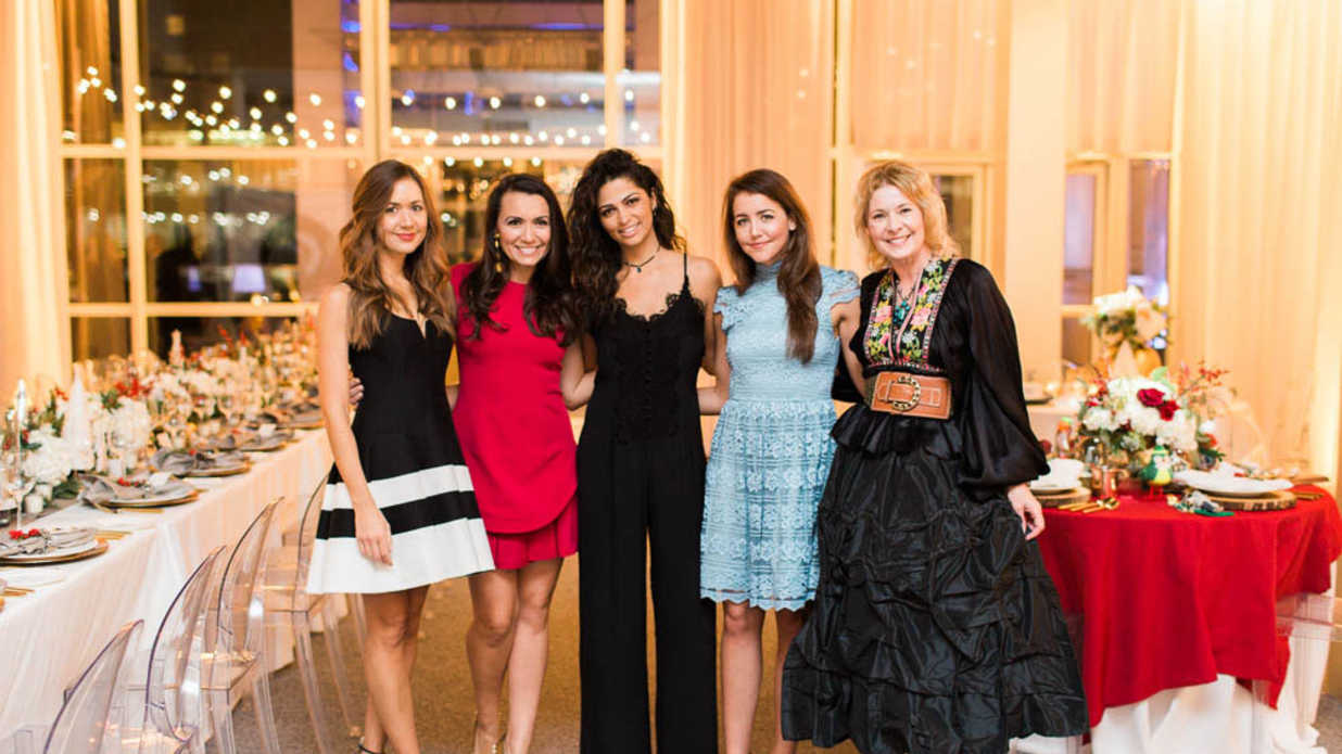 Camila Alves & Texas Bloggers Inspire Dreamy Holiday Tables