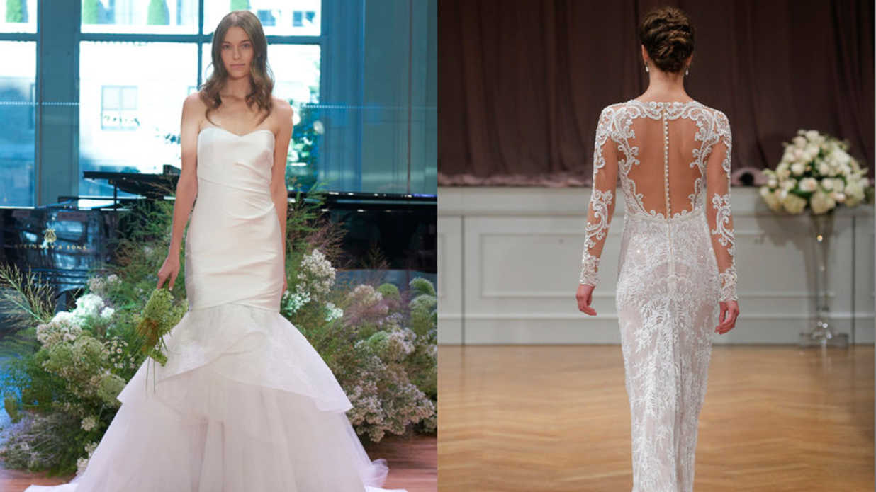 The Top Bridal Gown Trends for Fall 2017