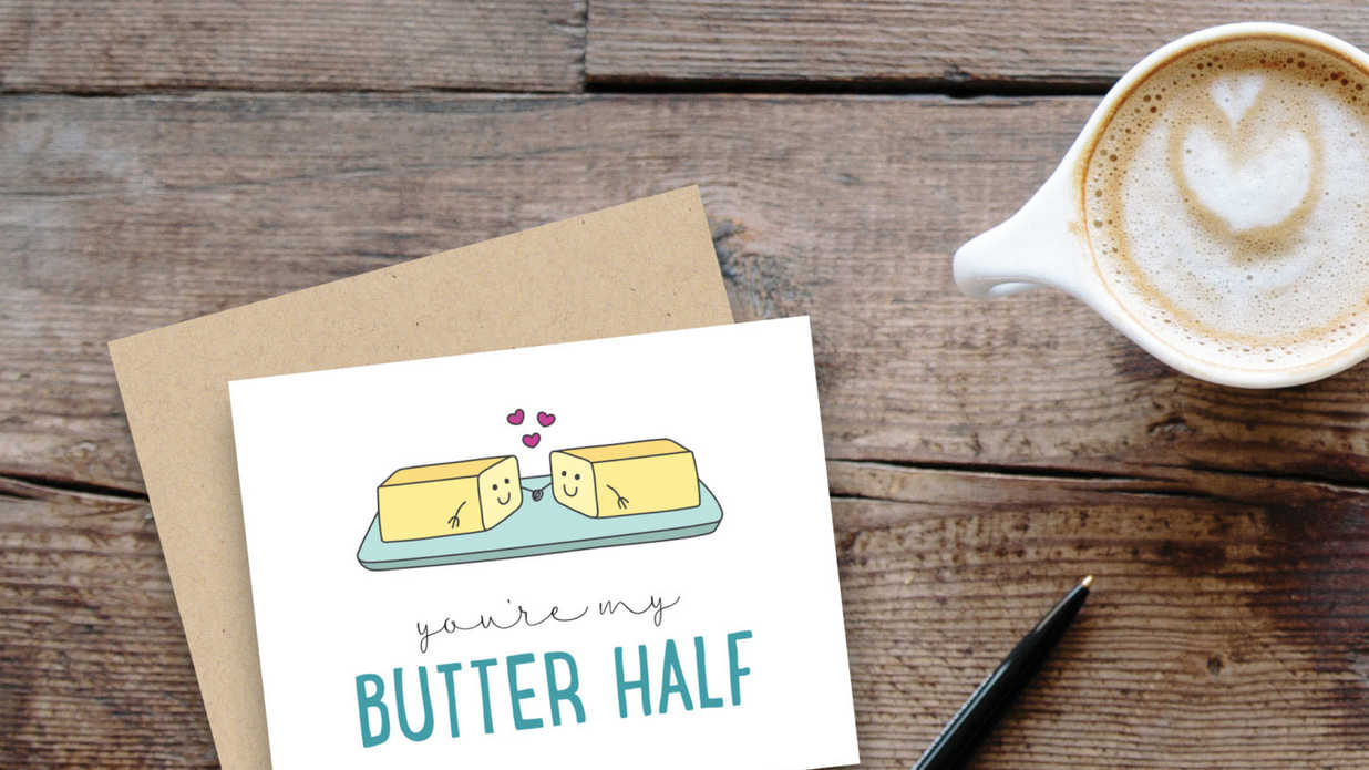 8 Valentine's Cards Inspired by Our Favorite Foods