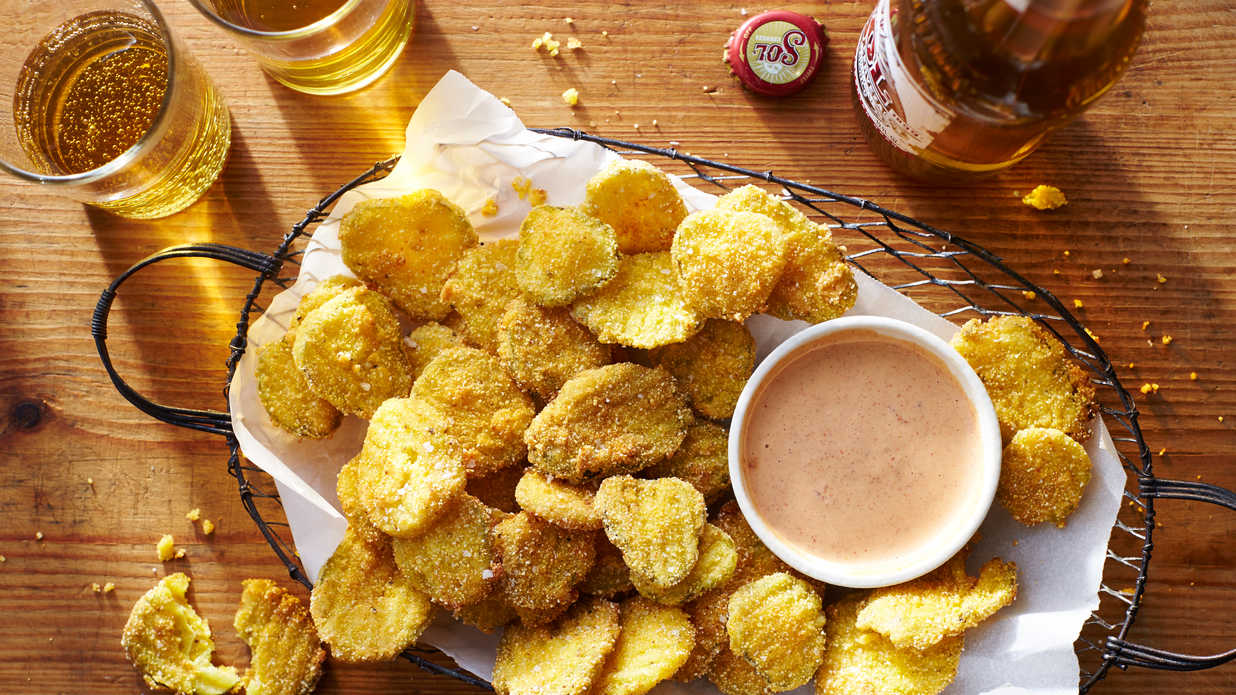 Fried Pickle Chips Recipe