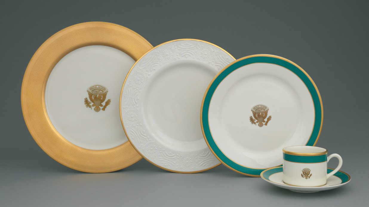 Presidential China Fit for Kings, Queens, and the First Families