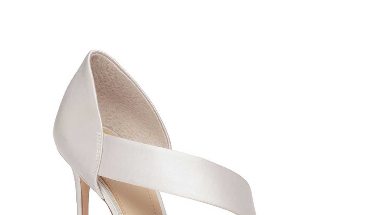 Have Your Own Cinderella Moment In These Ivory Wedding Shoes