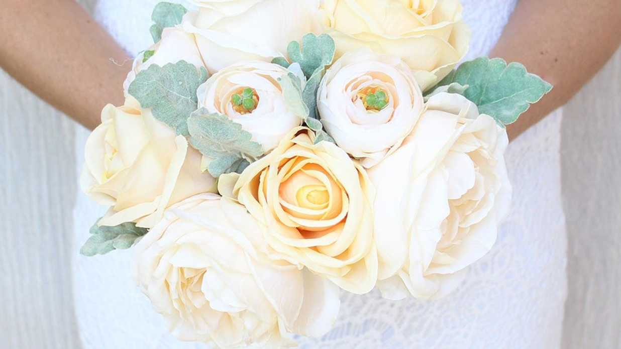 Is It Okay To Use Artificial Flowers At Your Wedding Southern Living