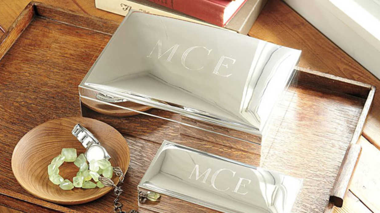 Monogrammed Gifts to Make Your S.O. Swoon this Valentine's Day