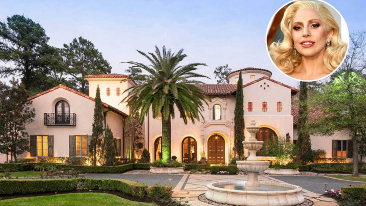 Lady Gaga Stayed in This $20 Million Houston Mansion During the Super Bowl: See Inside