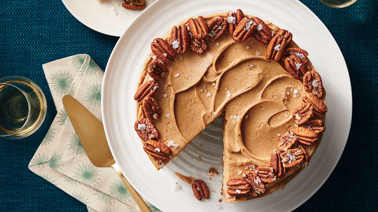 Southern Living Butter Toffee Pecan Layer Cake