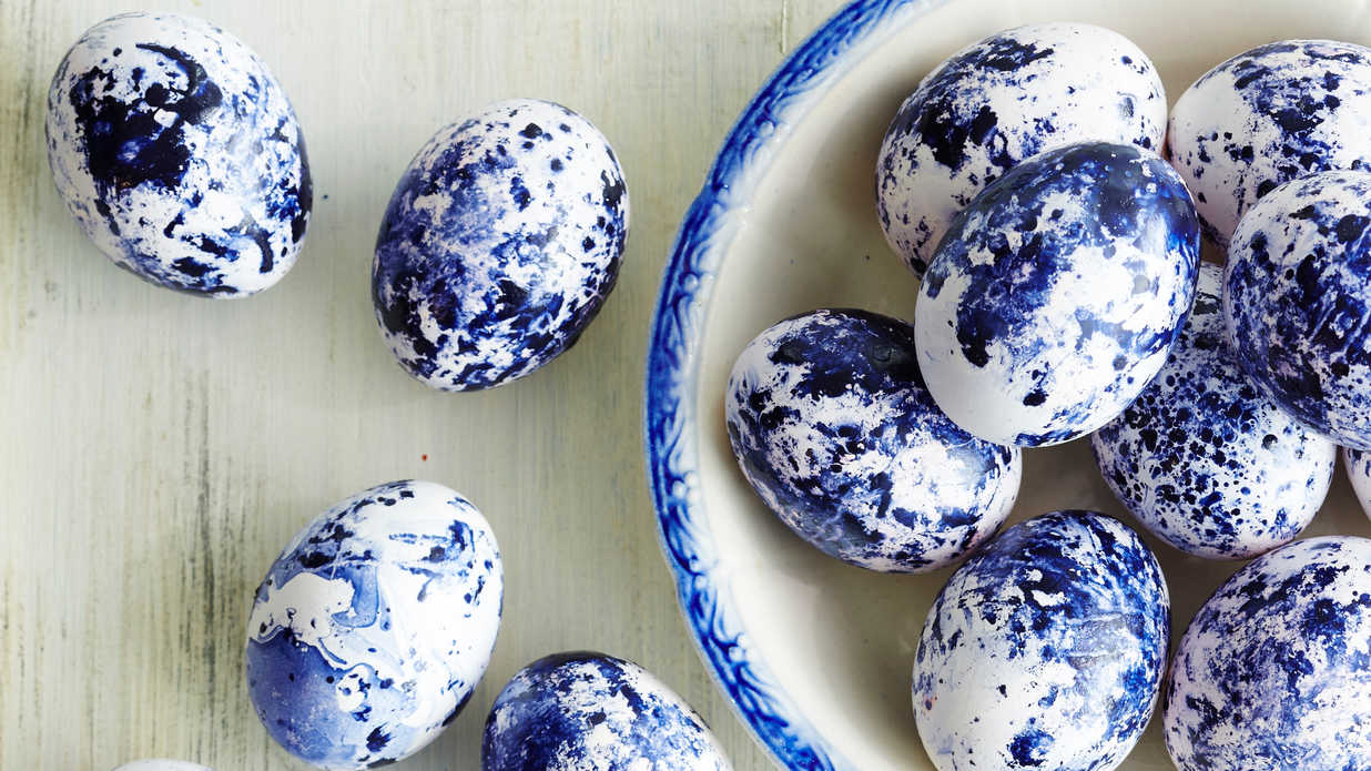 Nail Polish Easter Eggs Southern Living