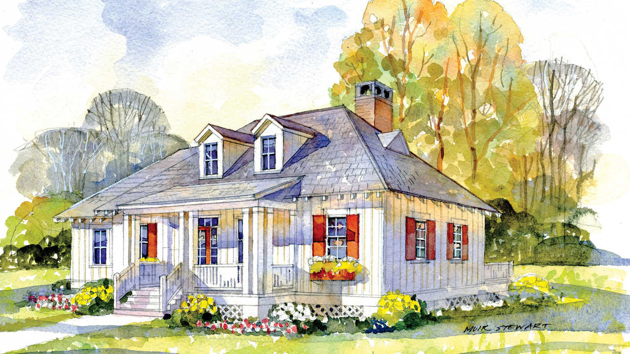 Why we love southern living house plan 1906 southern living for Southern living house plans with keeping rooms