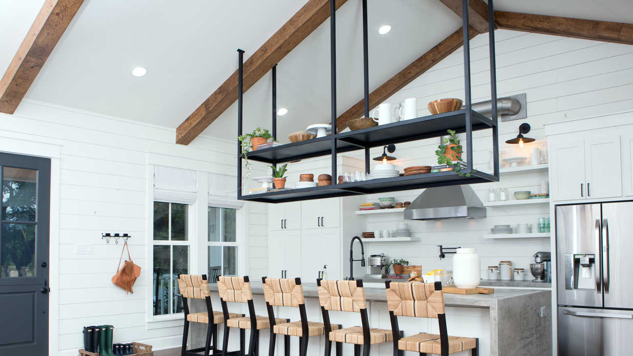 Genius Kitchen Storage Ideas We're Stealing from Fixer Upper