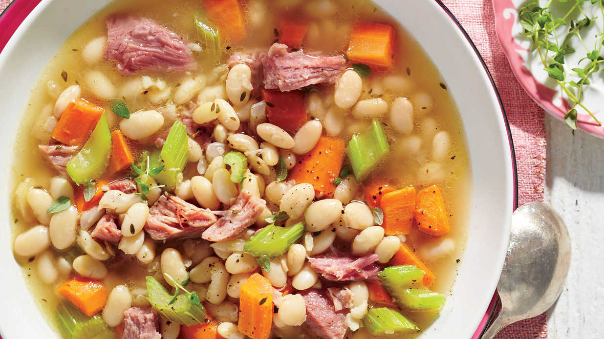 Ham-and-Bean Soup Recipe