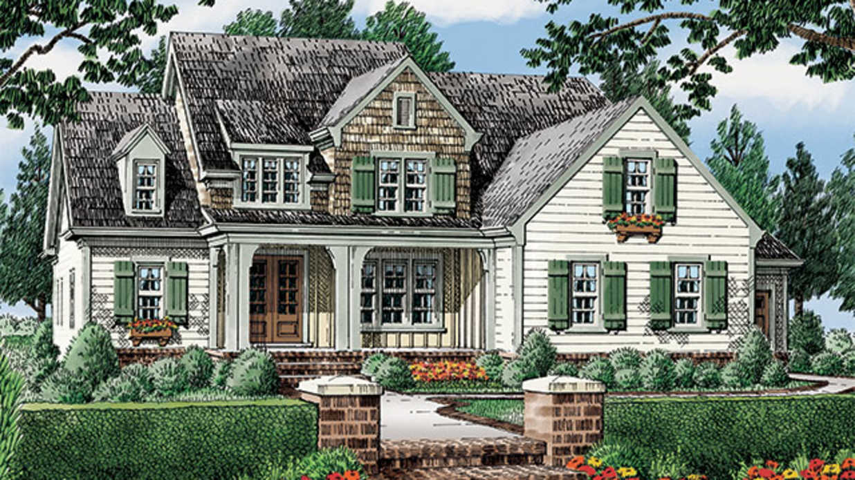Why we love southern living house plan 1929 for Southern living house plans with keeping rooms