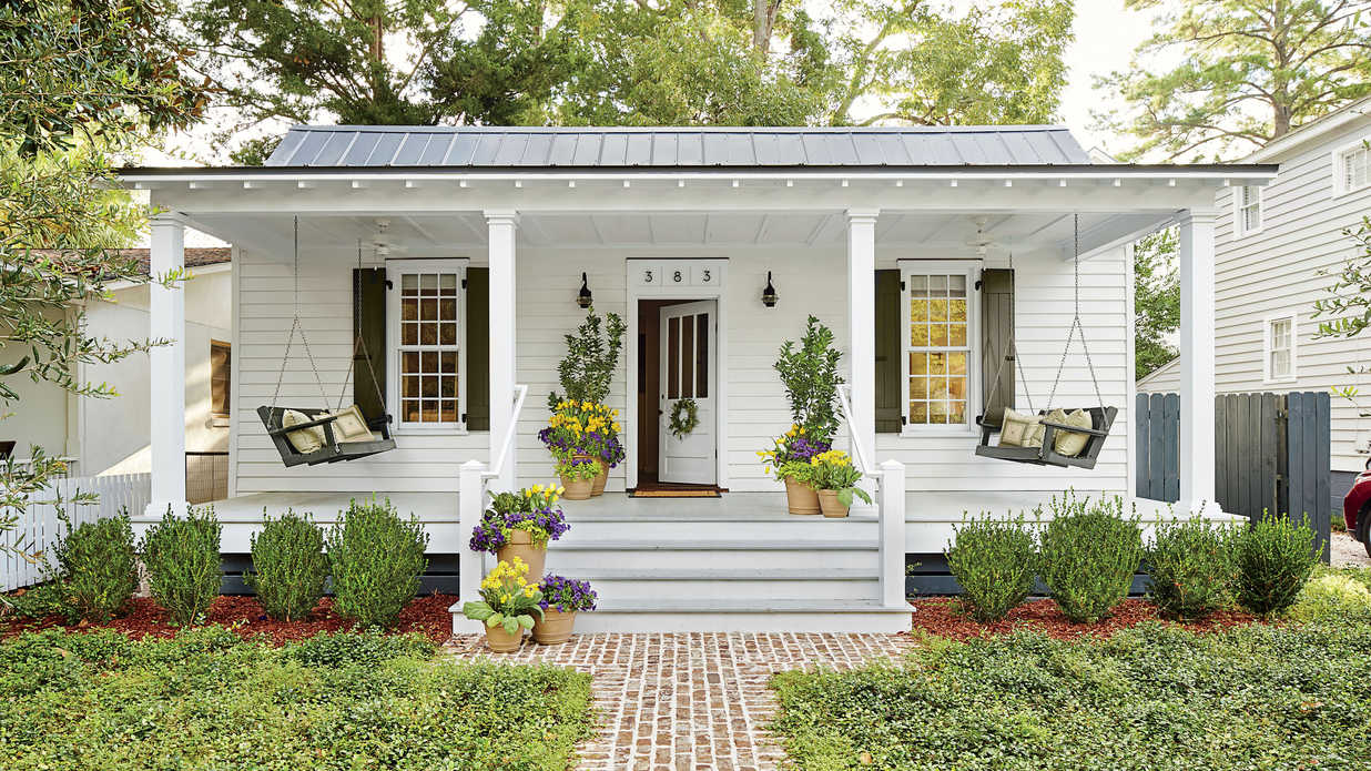 Tiny Porches And Patios That Are Giving Us Major Inspiration   Southern  Living