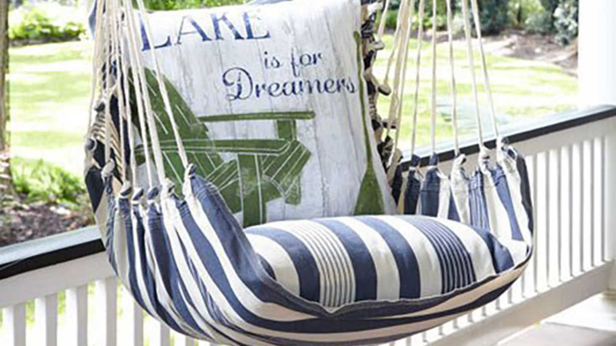 comfortable porch furniture. Swing In Style With This Comfortable Outdoor Chair - Southern Living Porch Furniture K
