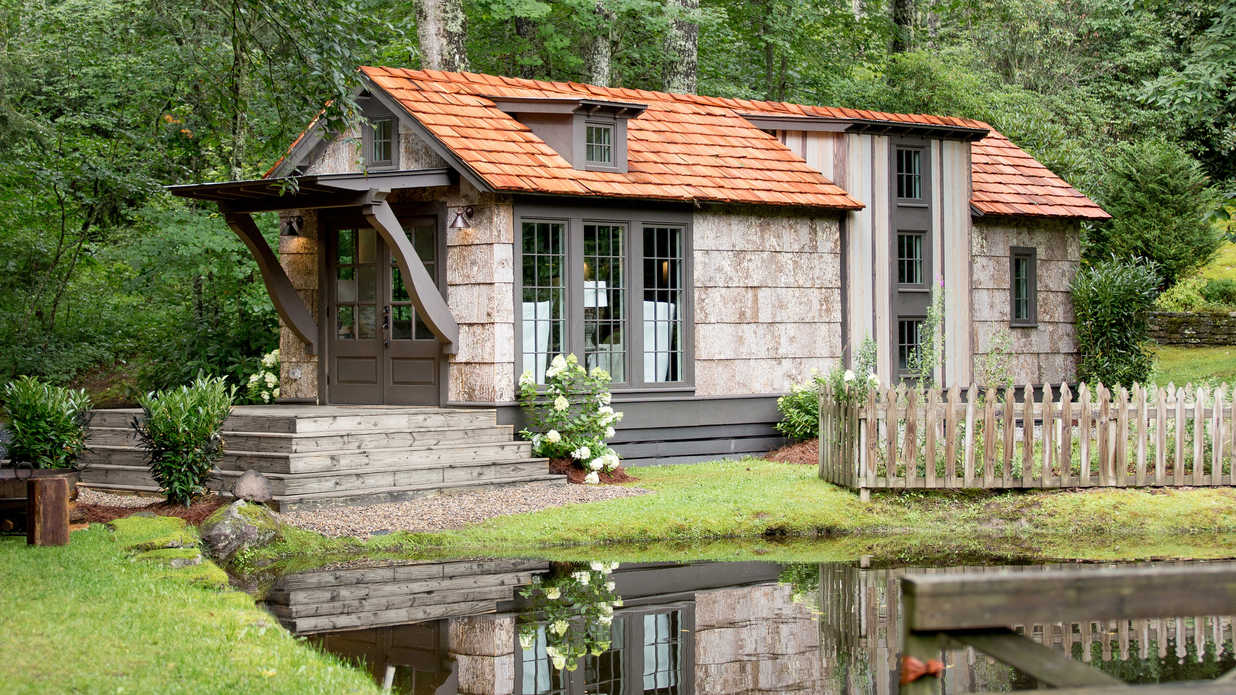 Low Country Tiny Home on 600 Sq Ft Cottage Plans