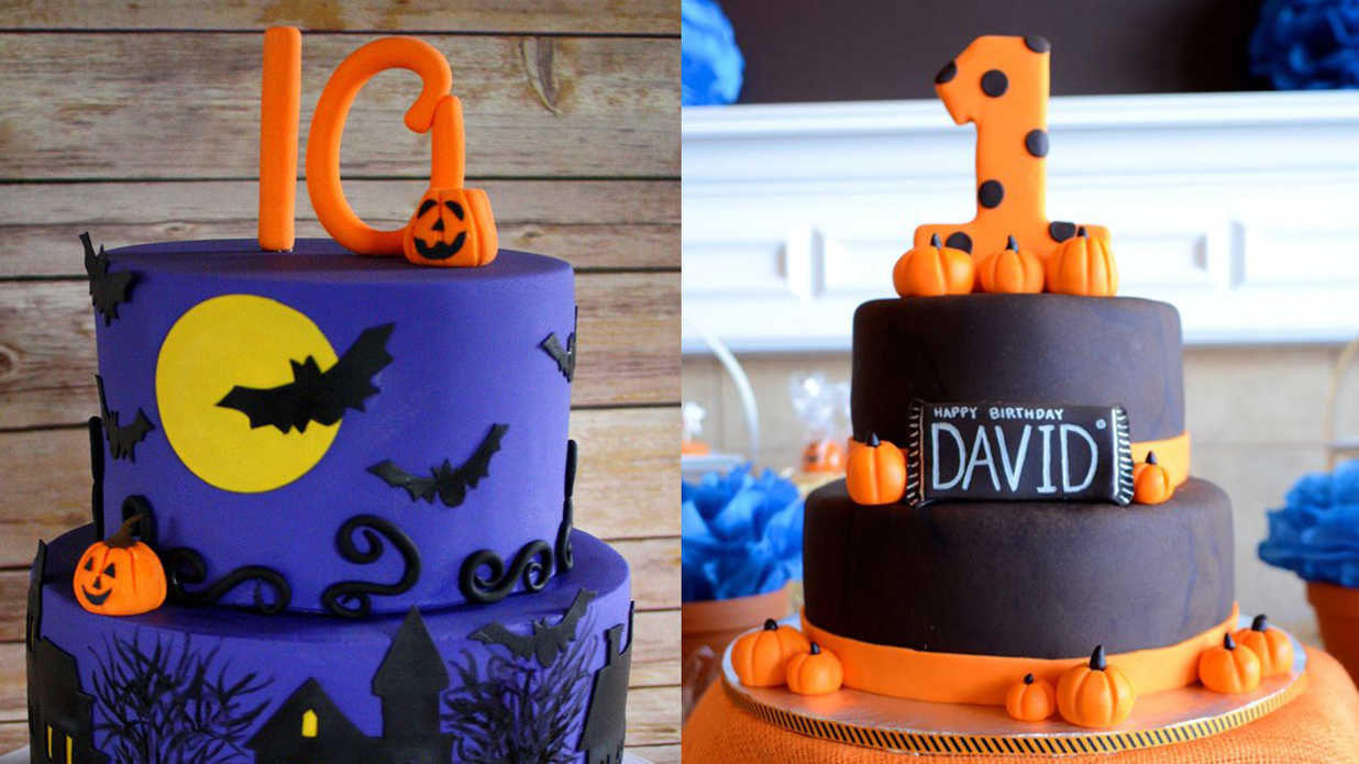 13 Ghoulishly Festive Halloween Birthday Cakes