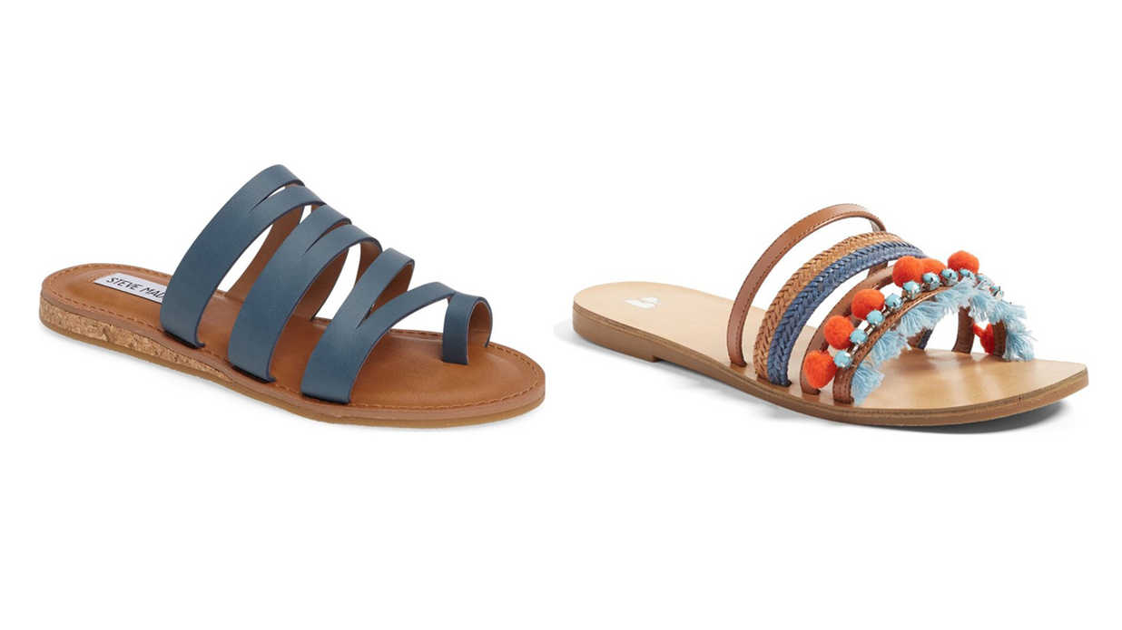 These Stylish Summer Sandals are as Comfortable as They are Colorful