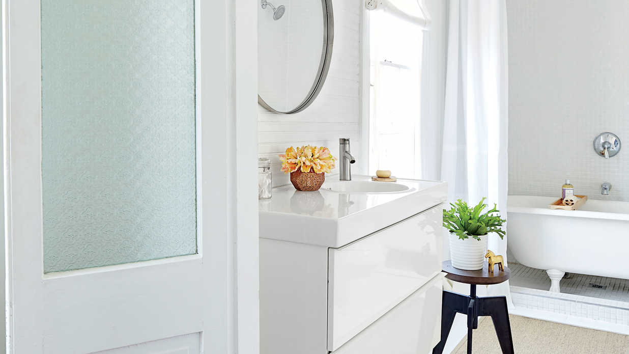 White Bathrooms - Southern Living