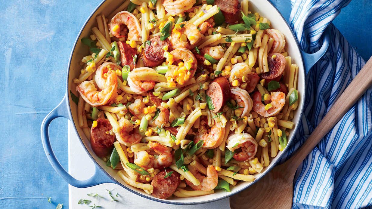 Cajun Shrimp Boil Pasta Recipe