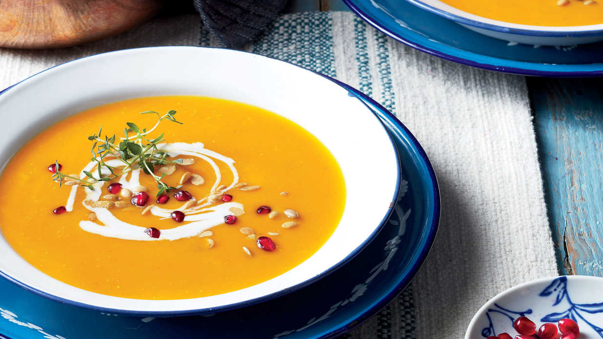 Warm Up With Our Favorite Pumpkin Soup Recipes