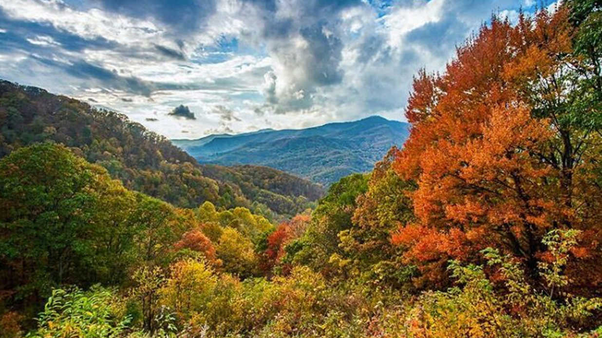 best places to see fall scenery in the south southern living