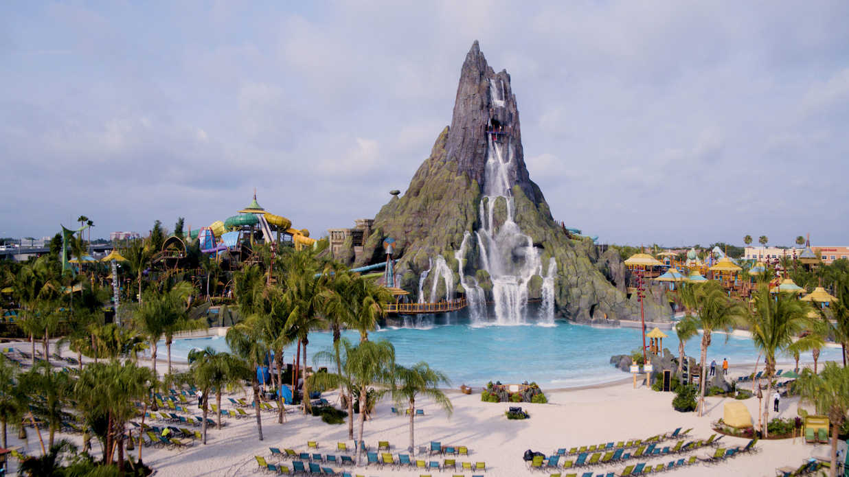 Universal's New Theme Park Is An Island Paradise