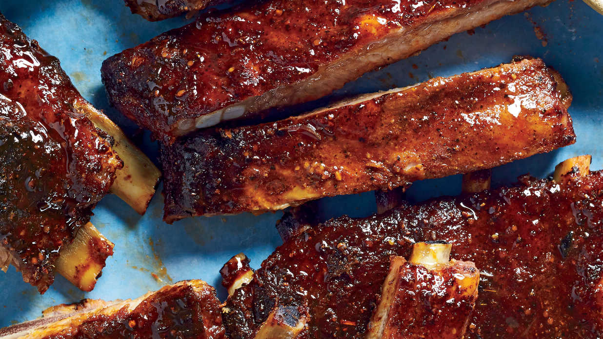 Deep South Barbecue Ribs Recipe