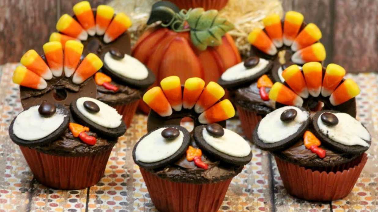 The Cutest Thanksgiving Cupcakes You'll Ever See