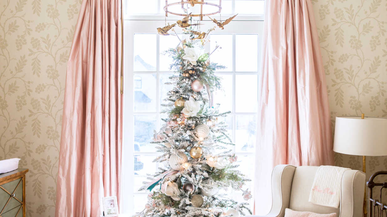 Pink Christmas Trees We Love - Southern Living