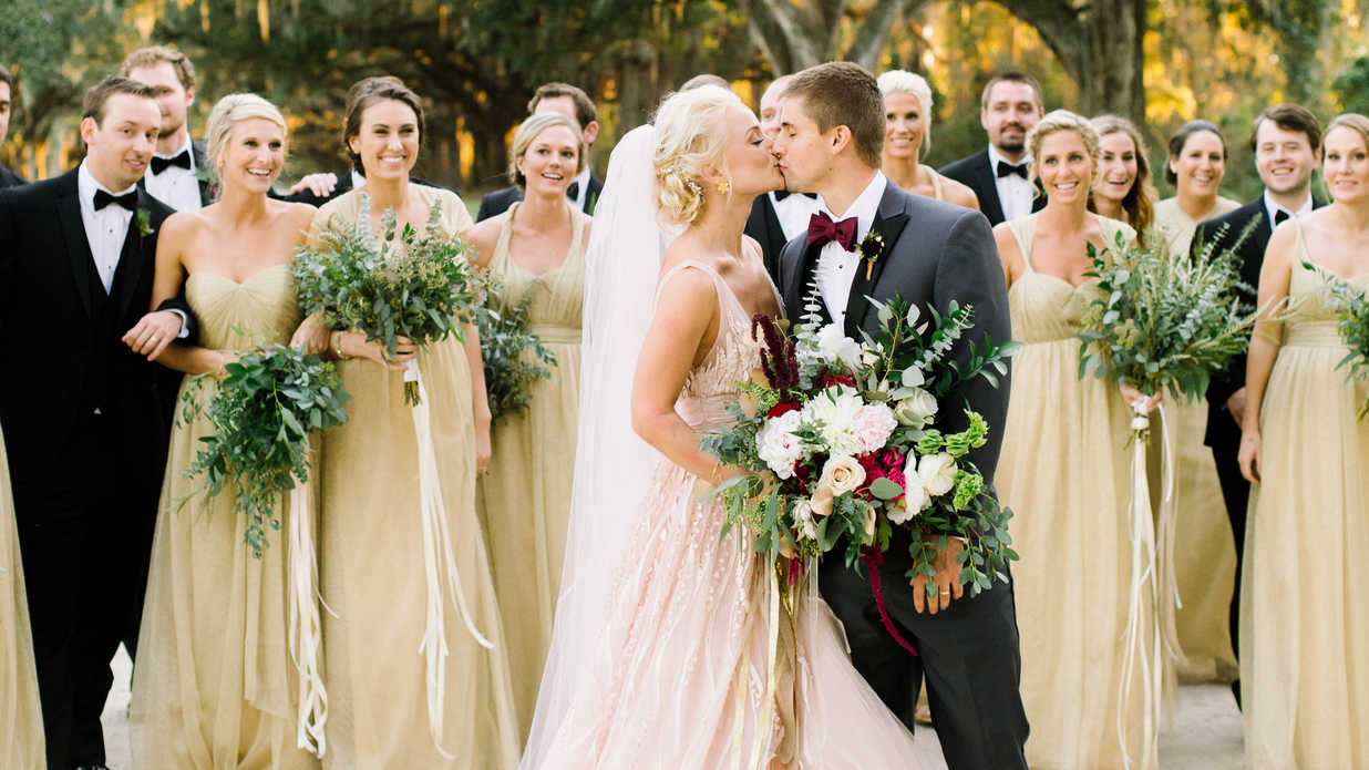 A Whimsical Charleston Wedding With the Perfect Fall Palette
