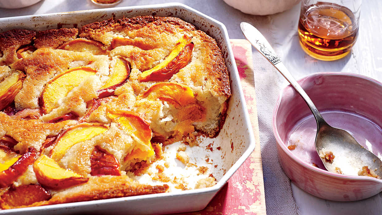 Easy Peach Cobbler Southern Living
