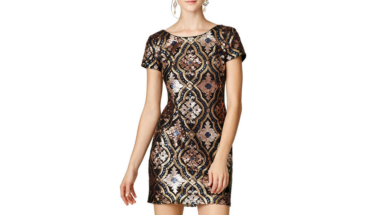 Festive New Year's Party Dresses Under $100