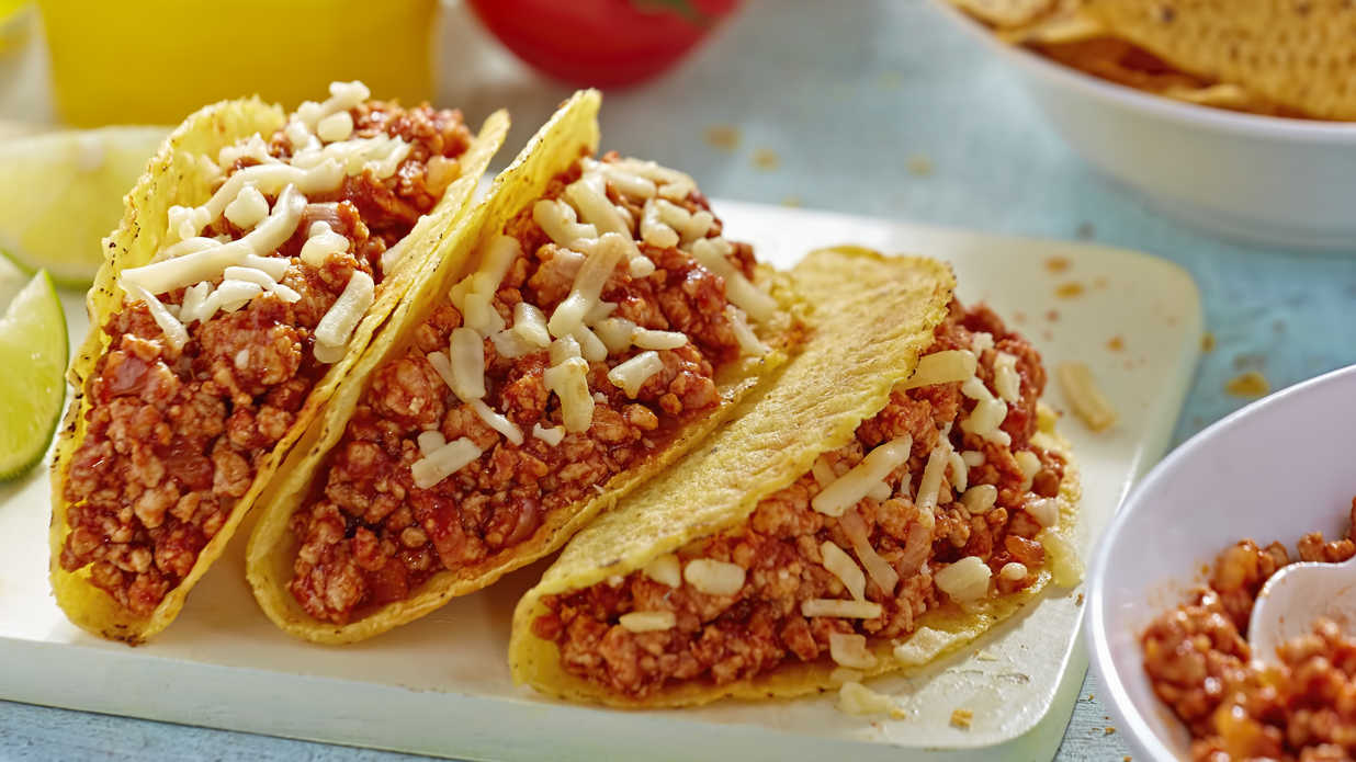 Our greatest leftover turkey tacos southern living for Leftover shredded turkey sandwiches