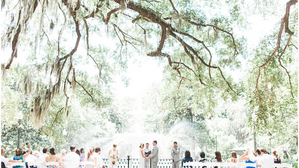 The Most Beautiful Wedding Venues in Savannah