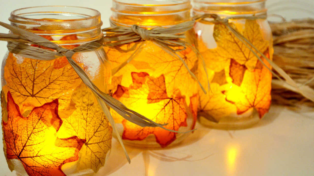 19 Ways to Decorate With Leaves This Fall