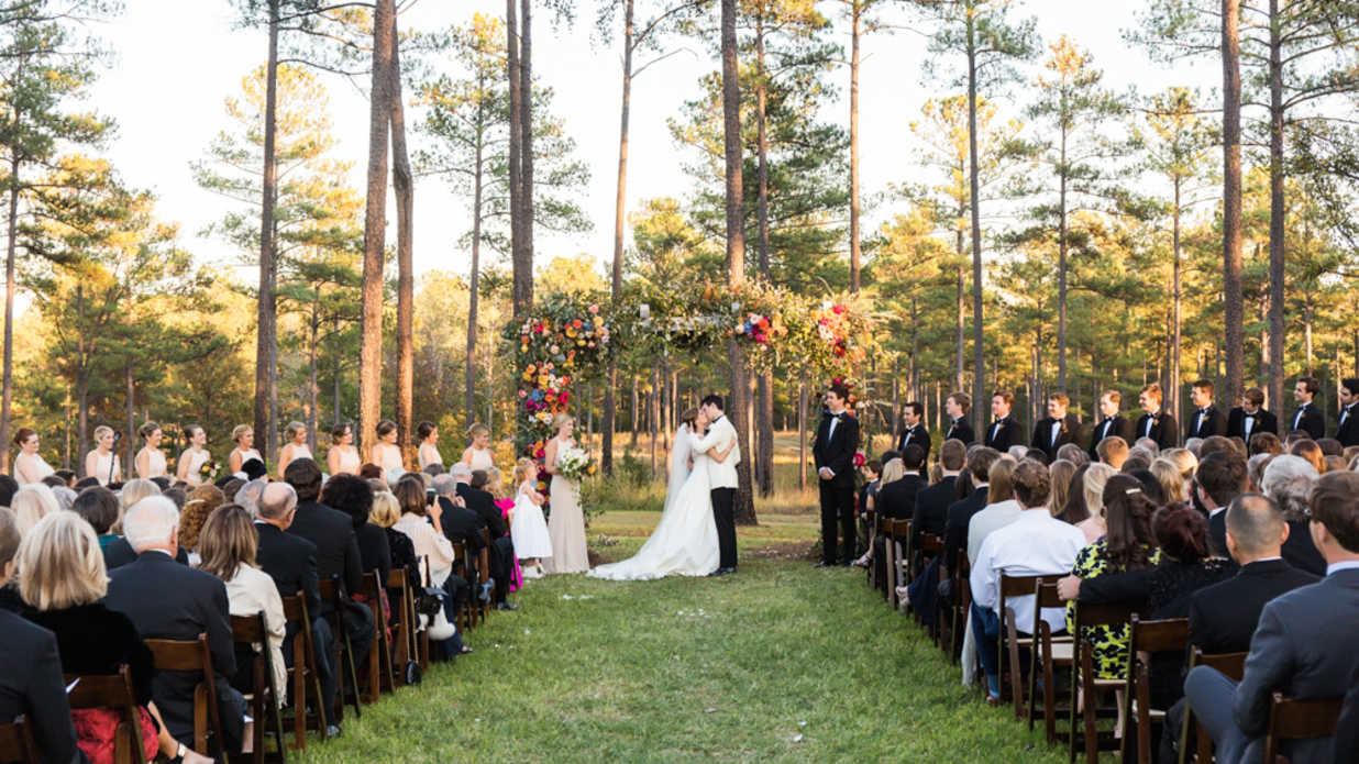 You Won't Believe This Beautiful Wedding Took Place in the Bride's Backyard
