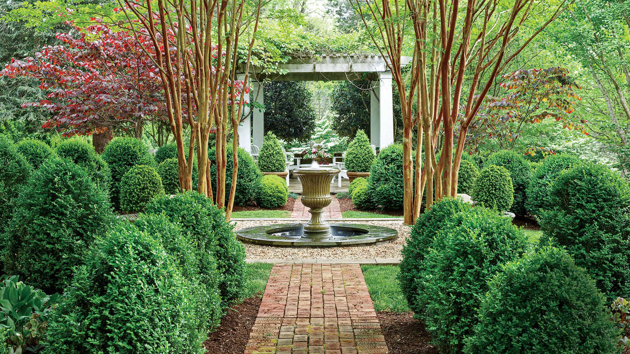 Nothing beats boxwood and here 39 s why southern living for Garden trees memphis