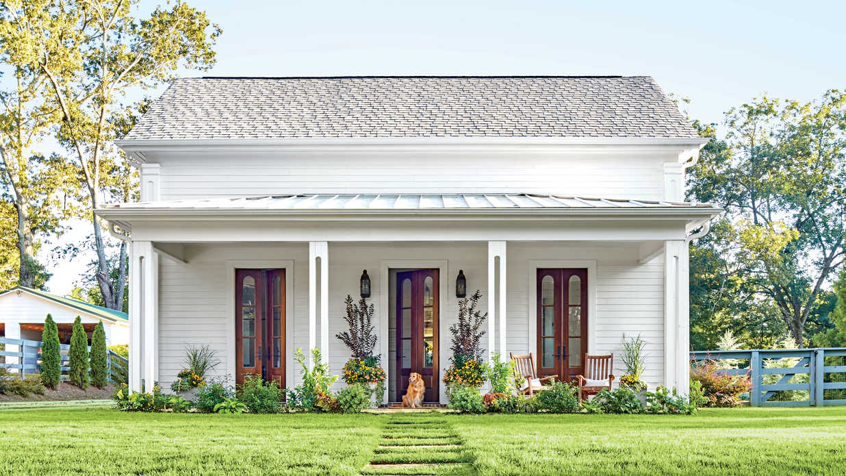 See How One Designer Moved Back Home to Build Her Dream Cottage ...