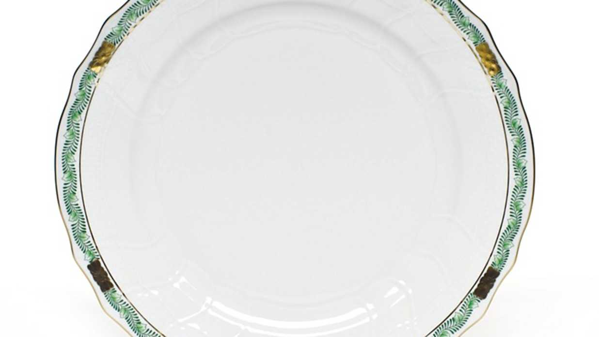Our Favorite Green and White China Patterns