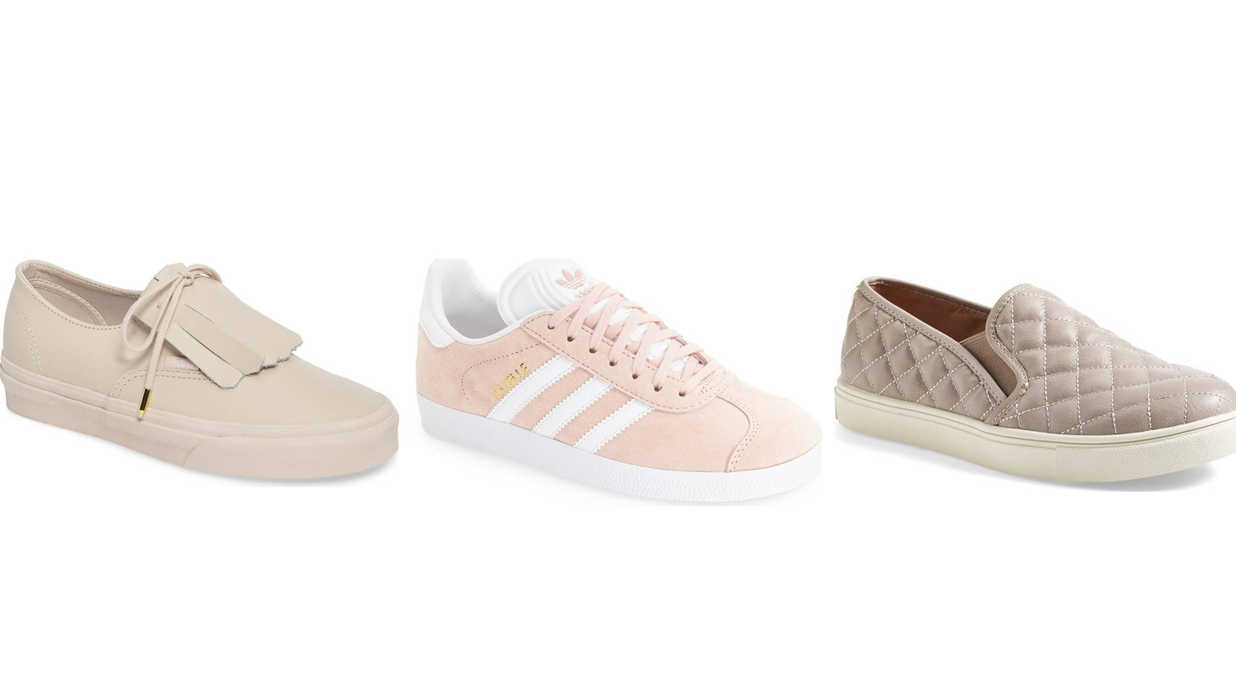 244170c1cff 7 Comfy Sneakers That Look Great With Dresses