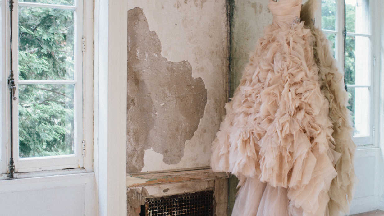 Blush Wedding Dress Styles We Love