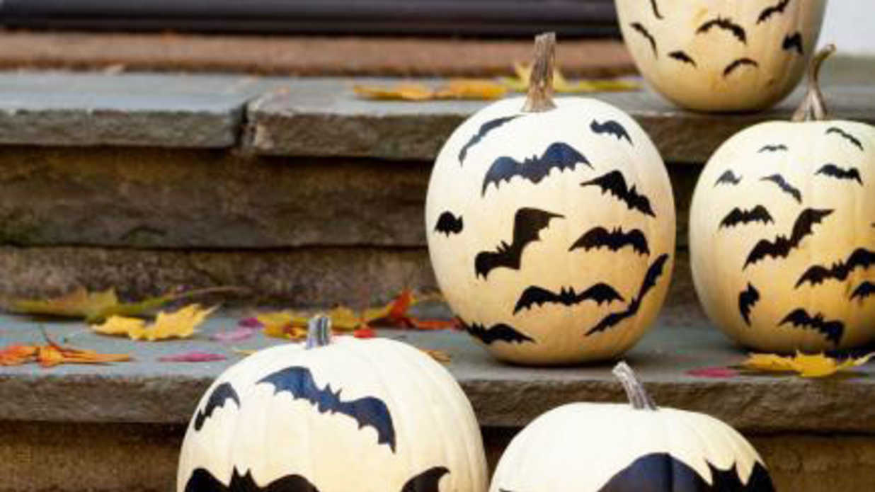 18 Painted Pumpkins for A Carve-Free Halloween