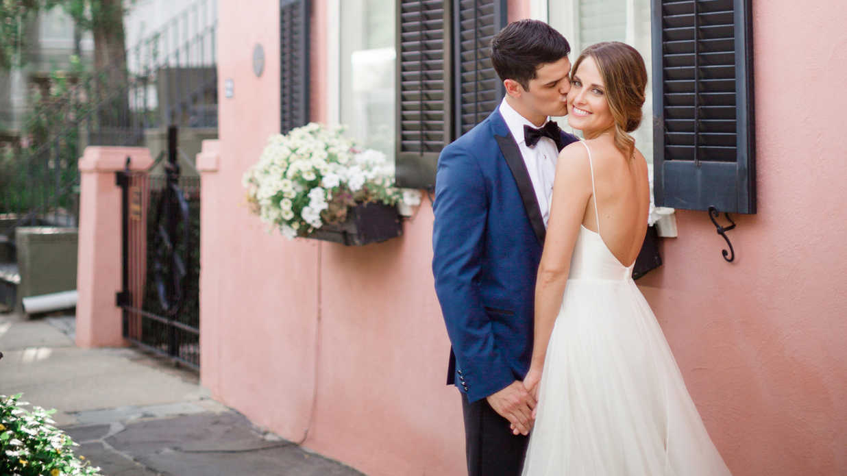 The Dreamiest Charleston Wedding Reception We Ever Did See