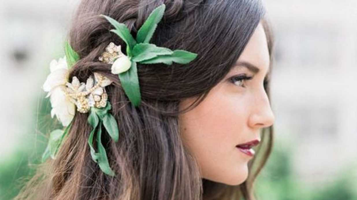 Our favorite half up hairstyles for bridesmaids southern living izmirmasajfo